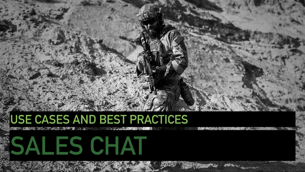 Sales Chat: Use Cases & Best Practices